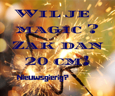 Wil je magic?….
